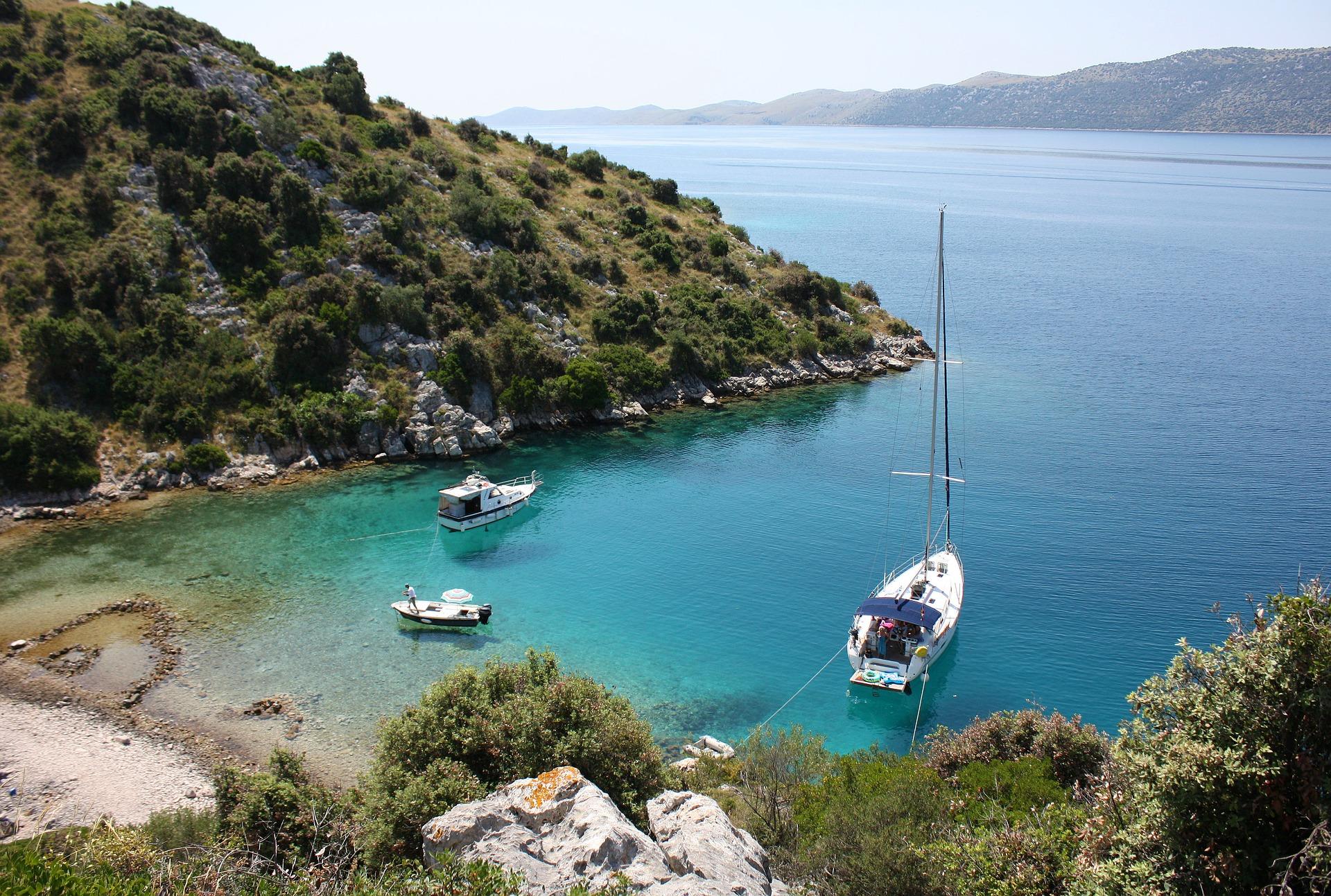 Kroatien Bucht